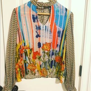 Anthropologie women's top size Small